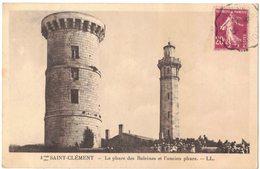 ÎLE DE RE SAINT CLEMENT : LE PHARE DES BALEINES ET L'ANCIEN PHARE - Ile De Ré