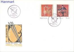 Portugal 1975 Mi 1281-1282 FDC ( FDC ZE1 PRT1281-1282 ) - Tiro Al Arco