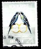 Ned.Antillen 1965  Nvph.nr: 370Huwelijk Beatrix En Claus  Oblitérés / Used / Gestempeld - Niederländische Antillen, Curaçao, Aruba