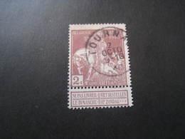 Timbres Anciens Vendus à 20% De La Valeur Catalogue COB:89 Oblitéré - 1910-1911 Caritas
