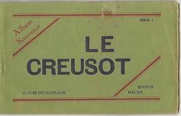 LE CREUSOT - Carnet De 10 Cartes Postales - Le Creusot