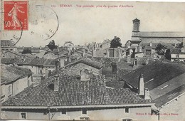 CPA. STENAY. VUE GENERALE PRISE DU QUARTIER D'ARTILLERIE. 1911. - Stenay