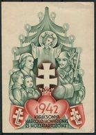 1942 HUNGARY Christmas Propaganda Postcard. Tabori Postai Levelezolap - Briefe U. Dokumente