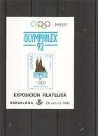 Espagne - Exposition Philatélique De Barcelone -1992 ( BF Privé XXX -MNh- D'Espagne De 1992 à Voir) - Blokken & Velletjes