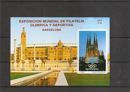 Espagne - Exposition Philatélique Olympique De Barcelone -1992 ( BF Privé XXX -MNh- D'Espagne De 1992 à Voir) - Blocs & Hojas