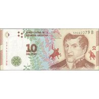 TWN - ARGENTINA 360 - 10 Pesos 2014-2015 Serie B - Signatures: Vanoli & Dominguez UNC - Argentine