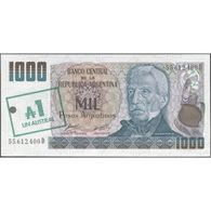 TWN - ARGENTINA 320 - 1/1000 1/1.000 Austral/Pesos 1985 Serie D - Signatures: Alonso & Concepcion AU/UNC - Argentina