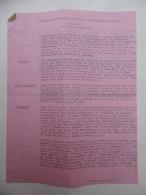 WW2 ARDECHE SITUATION DES EVACUÉS DANS LES DÉPARTEMENTS D ACCUEIL SIGNE JOSEPH BARRIN - Documents Historiques