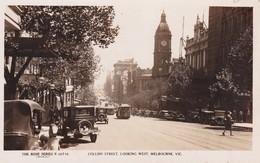 Melbourne, Collins Street, Looking West, The Rose Séries De Luxe, (P.10710) - Melbourne
