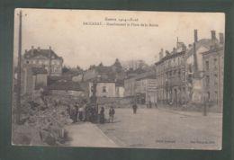 CPA - 54 - Baccarat - Gondrecourt Et Place De La Mairie - Guerre 1914-15-16 - Baccarat