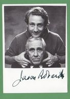 JASON ROBARDS   AUTOGRAPH / AUTOGRAMM   Original Signed Glossy Photo 10/15 Cm  4/6 Inch - Autographes