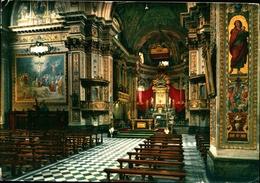 12619) CARTOLINA DI RHO-SANTUARIO BEATA VERGINE ADDOLORATA-INTERNO-VIAGGIATA - Rho
