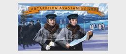Estonia 2020 - Discovery Of Antarctica 200, Estonian-Russian Joint Issue - Miniature Sheet - Estonia
