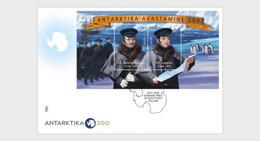 Estonia 2020 - Discovery Of Antarctica 200, Estonian-Russian Joint Issue FDC - Estonia