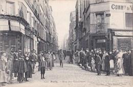PARIS XX° Editeur GONDRY N° 520  Rue Des CENDRIERS Angle Bd De MENILMONTANT Animation CAFES Commerces De VINS - Arrondissement: 20