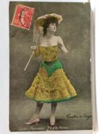 LYDIA (PARISIANA) - Y'A D'LA FEMME - CAUTIN DE BERGE - 1907 - Musica E Musicisti