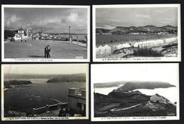 Conjunto De 4 Postais Fotograficos De S.MARTINHO Do PORTO / ALCOBAÇA. Set Of 4 Vintage Photo Postcards (Leiria) PORTUGAL - Leiria