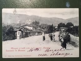 Souvenir De Brousse-Mosquée Et Turbés Verst Et Le Quartier Tatarlar - Turkije