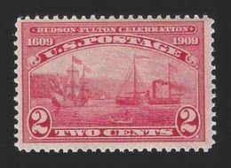 US #372 1909 Carmine Wmk 191 Perf 12 MNH F-VF Scv $21 - Unused Stamps