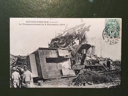 NOVION-PORCIEN - Le Tamponnement Du 9 Novembre 1906 - Francia