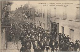 CPA  41   ST AIGNAN FETES DE LA MUTUALITES - Saint Aignan