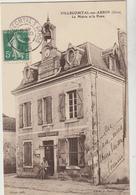 CPA    32  VILLECOMTAL SUR ARROS LA MAIRIE ET LA POSTE - France