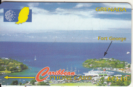 GRENADA(GPT) - Fort George, CN : 51CGRB, Tirage 16000, Used - Grenade