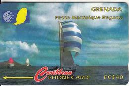 GRENADA(GPT) - Petite Martinique Regatta, CN : 13CGRC, Tirage 15000, Used - Grenada