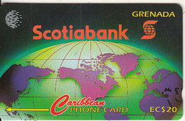 GRENADA(GPT) - Scotiabank, CN : 11CGRA, Tirage 6000, Used - Grenada
