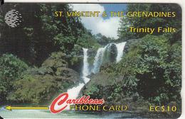 ST.VINCENT & GRENADINES(GPT) - Trinity Falls, CN : 52CSVA, Tirage 7400, Used - Saint-Vincent-et-les-Grenadines