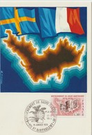 """CARTE Postale """"Centenaire Du Rattachement De St Barthélémy à La France """" Cachet Temporaire 19/01/1978 - Saint Barthelemy"""