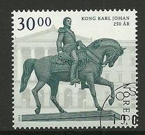 Norway 2013 King Karl Johan 250th Anniv.  Y.T. 1765 (0) - Norvège