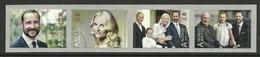 Norway 2013 40th Anniv. Of Prince Haakon Strip Y.T. 1770/1773 (0) - Norvège