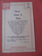 The Ontario Equitable Life & Accident Insurance Waterloo Ont.     Ref  3867 - Werbepostkarten