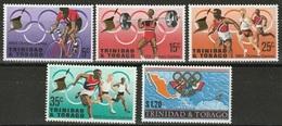 1968Trinidad And Tobago222-2261968 Olympic Games In  Mexiko - Zomer 1968: Mexico-City