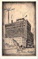 Kentucky Louisville The Brown Hotel 1936 - Louisville
