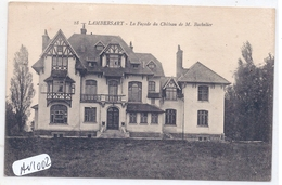 LAMBERSART- LA FACADE DU CHATEAU DE M BACHELIER - Lambersart