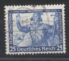 Drittes Reich , Nr 506 , 25 Pfennig Wagner , Gestempelt ( 50.-) - Germany