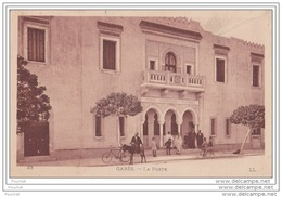 Gabès (Tunisie) La Poste  - (animée - âne) - Tunisia