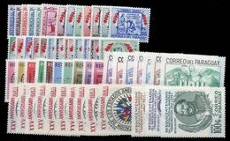 1957, Paraguay, 759-83 U.a., ** - Paraguay