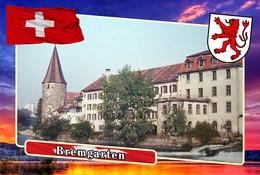 Postcard, REPRODUCTION, Municipalities Of Switzerland, Bremgarten 8 - Cartes Géographiques