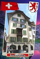 Postcard, REPRODUCTION, Municipalities Of Switzerland, Bremgarten 13 - Cartes Géographiques