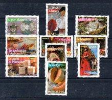 B373-14 France Oblitéré N° 4094 à 4103 - Oblitérés