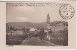 MEUSE - LE NEUFOUR - L'Eglise - La Grande Rue  ( - Timbre à Date De 1918 ) - Autres Communes