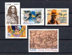 B373-19 France Oblitéré N° 3901 à 3905 - Oblitérés