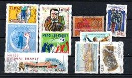 B373-20 France Oblitéré N° 3932 à 3941 - France
