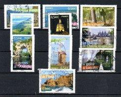 B373-21 France Oblitéré N° 3942 à 3951 - Oblitérés