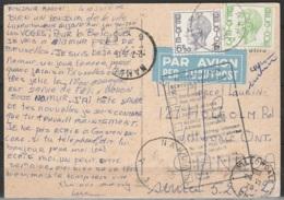 """CP Luxembourg Affr. N°1694+1744 Càd """"NAMUR/1975"""" Pour WILLOWDALE (Canada) +  [Return To Sender/Retour à L'expéditeur] - Belgien"""