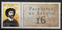 ANGOLA  N° 1439  * *  Millennium  Tableaux Juan Sebastian Elcano - Explorers