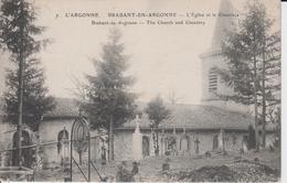 MEUSE - 7 - BRABANT EN ARGONNE - L'Eglise Et Le Cimetière  ( - En Français Et Anglais - N'a Pas Circule ) - Autres Communes